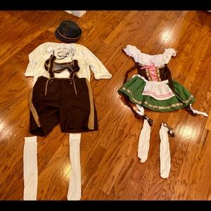 Couples costumes - Bavarian Octoberfest